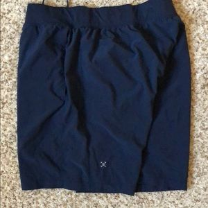 Lululemon 9 inch navy Pace Breaker shorts